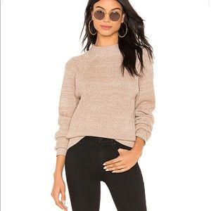 Free people too good pullover sweater neutral